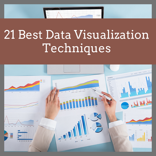 21 best data visualization types - featured image