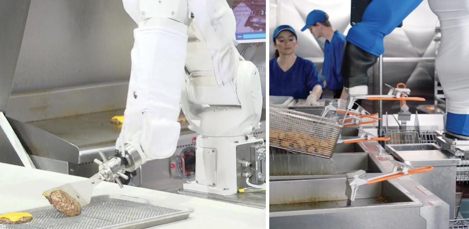 Flippy Robotic Kitchen Assistant