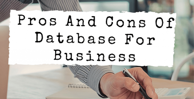 database advantages and disadvantages - featured image