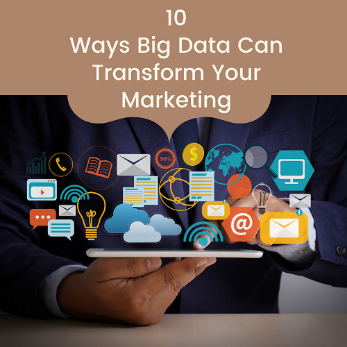 10 Uses of Big Data Analytics In Marketing - featured image